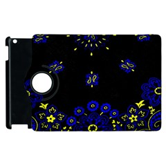 Blue Yellow Bandana Apple Ipad 3/4 Flip 360 Case by dressshop