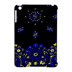 Blue Yellow Bandana Apple Ipad Mini Hardshell Case (compatible With Smart Cover) by dressshop