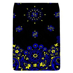 Blue Yellow Bandana Removable Flap Cover (s) by dressshop