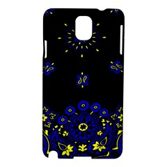 Blue Yellow Bandana Samsung Galaxy Note 3 N9005 Hardshell Case by dressshop