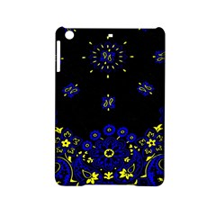 Blue Yellow Bandana Ipad Mini 2 Hardshell Cases by dressshop