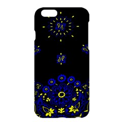 Blue Yellow Bandana Apple Iphone 6 Plus/6s Plus Hardshell Case by dressshop