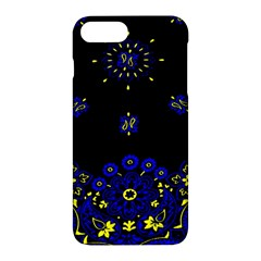 Blue Yellow Bandana Apple Iphone 7 Plus Hardshell Case by dressshop