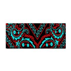 Blue And Red Bandana Hand Towel by dressshop