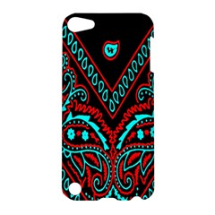 Blue And Red Bandana Apple Ipod Touch 5 Hardshell Case by dressshop