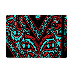 Blue And Red Bandana Apple Ipad Mini Flip Case by dressshop