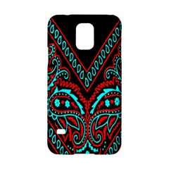 Blue And Red Bandana Samsung Galaxy S5 Hardshell Case  by dressshop