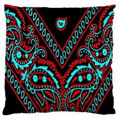 Blue And Red Bandana Standard Flano Cushion Case (one Side) by dressshop