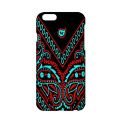 Blue And Red Bandana Apple Iphone 6/6s Hardshell Case by dressshop