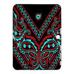 Blue And Red Bandana Samsung Galaxy Tab 4 (10 1 ) Hardshell Case  by dressshop