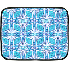 Geometric Doodle 1 Double Sided Fleece Blanket (mini)