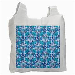 Geometric Doodle 1 Recycle Bag (two Side) by dressshop