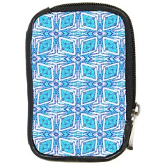Geometric Doodle 1 Compact Camera Leather Case by dressshop