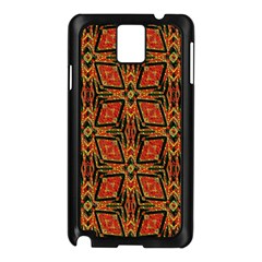 Geometric Doodle 2 Samsung Galaxy Note 3 N9005 Case (black) by dressshop