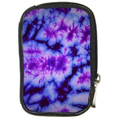 Tie Dye 1 Compact Camera Leather Case by dressshop