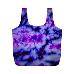 Tie Dye 1 Full Print Recycle Bag (m) by dressshop