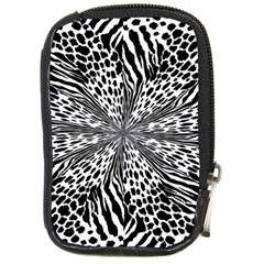 Animal Print 1 Compact Camera Leather Case by dressshop