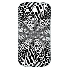 Animal Print 1 Samsung Galaxy S3 S Iii Classic Hardshell Back Case by dressshop