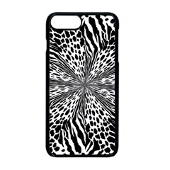 Animal Print 1 Apple Iphone 8 Plus Seamless Case (black) by dressshop