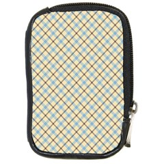 Plaid 2 Compact Camera Leather Case by dressshop