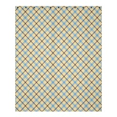 Plaid 2 Shower Curtain 60  X 72  (medium)  by dressshop