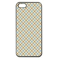Plaid 2 Apple Iphone 5 Seamless Case (black) by dressshop