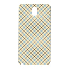 Plaid 2 Samsung Galaxy Note 3 N9005 Hardshell Back Case by dressshop