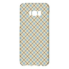 Plaid 2 Samsung Galaxy S8 Plus Hardshell Case  by dressshop