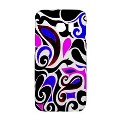 Retro Swirl Abstract Samsung Galaxy S6 Edge Hardshell Case by dressshop