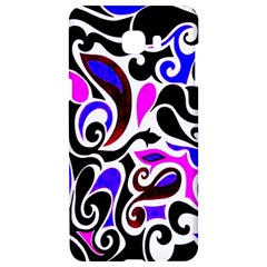 Retro Swirl Abstract Samsung C9 Pro Hardshell Case  by dressshop