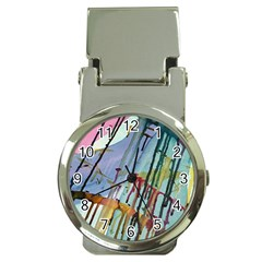 Chaos In Colour  Money Clip Watches by ArtByAng