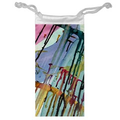 Chaos In Colour  Jewelry Bag by ArtByAng
