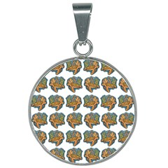 Tommyturt 25mm Round Necklace by ArtByAng
