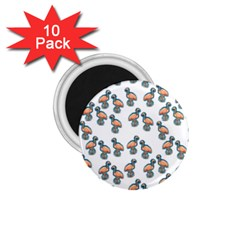 Flaming Gogo 1 75  Magnets (10 Pack)