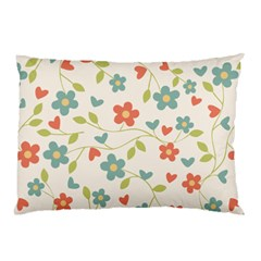 Flowers Pattern Pillow Case (two Sides) by Hansue