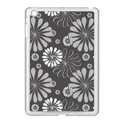 Floral Pattern Apple Ipad Mini Case (white) by Hansue