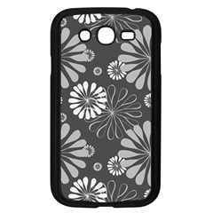 Floral Pattern Samsung Galaxy Grand Duos I9082 Case (black) by Hansue
