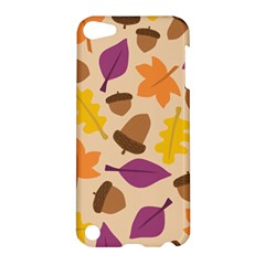 Acorn Pattern Apple Ipod Touch 5 Hardshell Case by Hansue