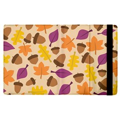 Acorn Pattern Apple Ipad Pro 9 7   Flip Case by Hansue