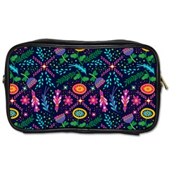 Colorful Pattern Toiletries Bag (two Sides) by Hansue