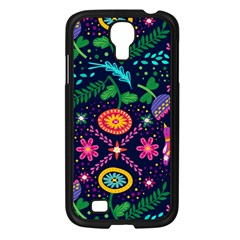 Colorful Pattern Samsung Galaxy S4 I9500/ I9505 Case (black) by Hansue