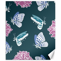 Butterfly  Canvas 8  X 10  by Hansue