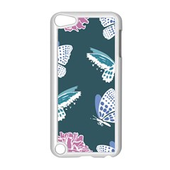 Butterfly  Apple Ipod Touch 5 Case (white) by Hansue