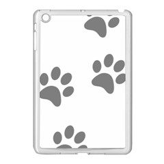 Pets Footprints Apple Ipad Mini Case (white) by Hansue