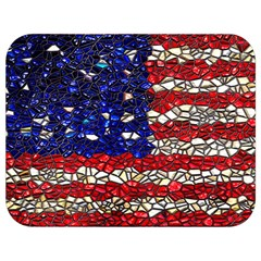 American Flag Mosaic Full Print Lunch Bag by bloomingvinedesign