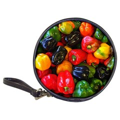 Colorful Bell Peppers Classic 20 Cd Wallets by bloomingvinedesign