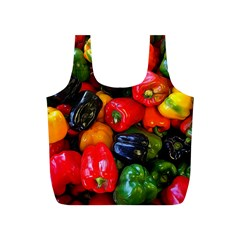 Colorful Bell Peppers Full Print Recycle Bag (s) by bloomingvinedesign