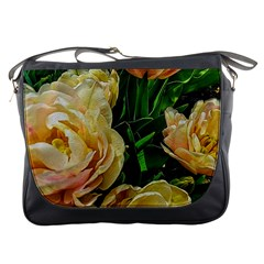 Early Summer Flowers Messenger Bag by bloomingvinedesign