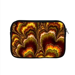Earthtone Feather Fractal Apple Macbook Pro 15  Zipper Case by bloomingvinedesign
