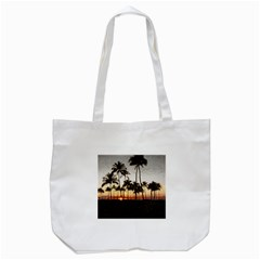Hawaiian Sunset Tote Bag (white) by bloomingvinedesign